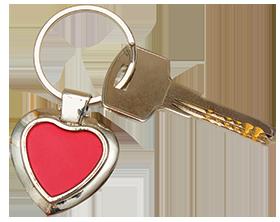 heart-keychain